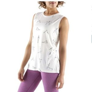 Lucy - Yoga Poses Muscle Tee